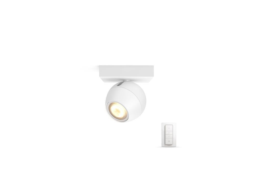 PHILIPS HUE 50471/31/P7 bodové LED svítidlo Buckram 1x3,5W 2200-6500K