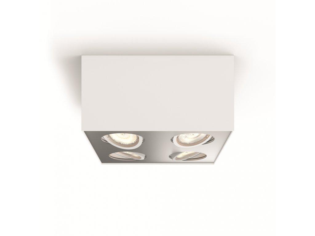 PHILIPS 50494/31/P0 bodové LED svítidlo Box 4x3,5W 2200-2700K