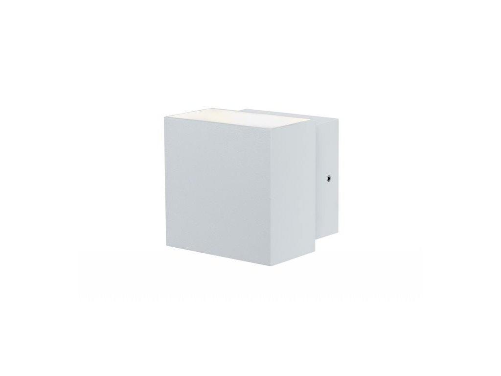 PAULMANN - Nástěnné svítidlo LED Cybo hranaté 2x3W bílá 100x100mm, 355lm, 2700K, P 18003