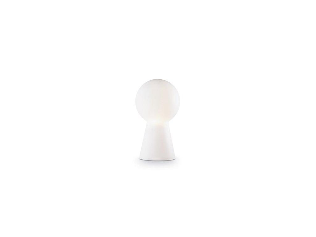 IDEAL LUX Stolní lampa Birillo TL 1 big bianco 000275 bílá