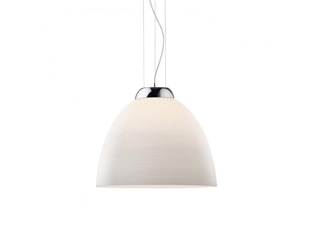 IDEAL LUX 001814 závěsné svítidlo Tolomeo SP1 D40 Bianco 1x100W E27