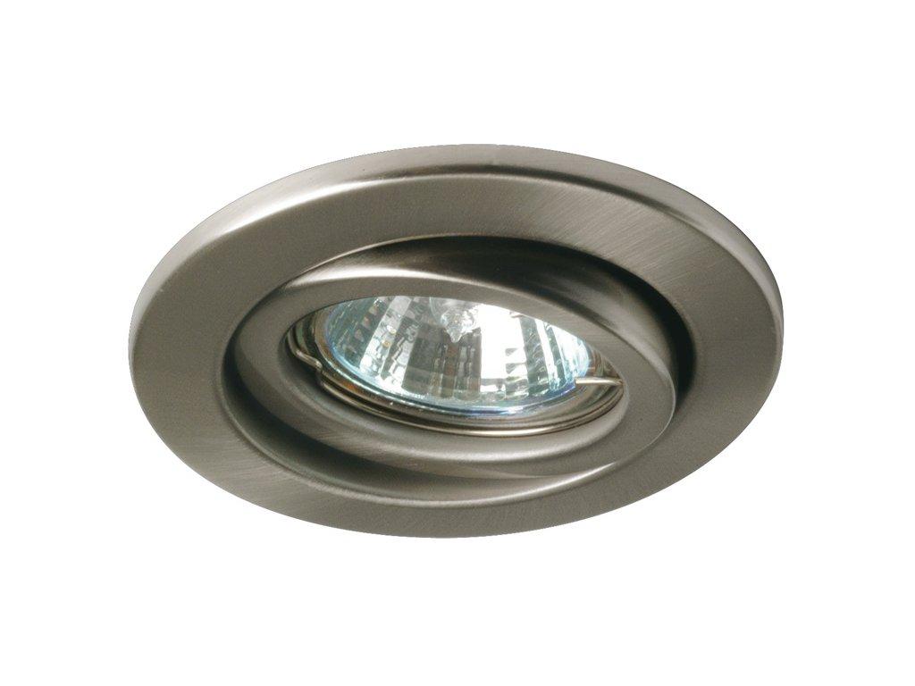 Zápustné svítidlo 1x50W GU10 230V 1ks - kartáčované železo - PAULMANN NICE PRICE P 3601