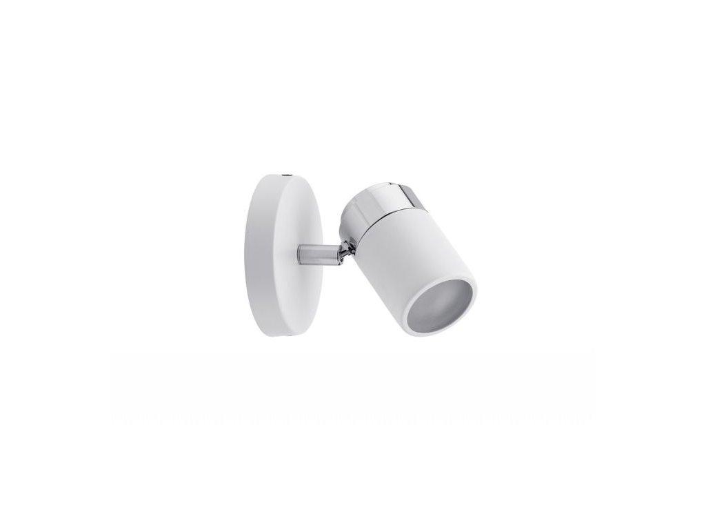 PAULMANN - Spotové svítidlo Zyli bílá/chrom max.1x10W GU10 IP44, P 66710