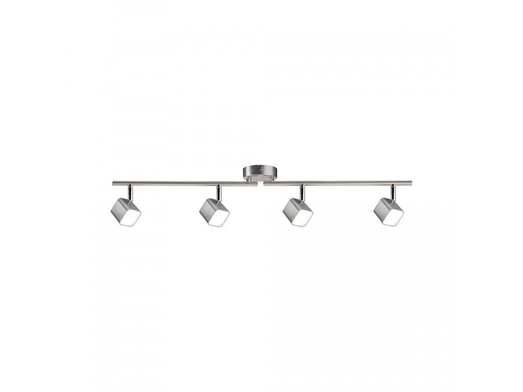 LED bodové svítidlo Cubik Balken 4x4W kov kartáčovaný - PAULMANN P 66738