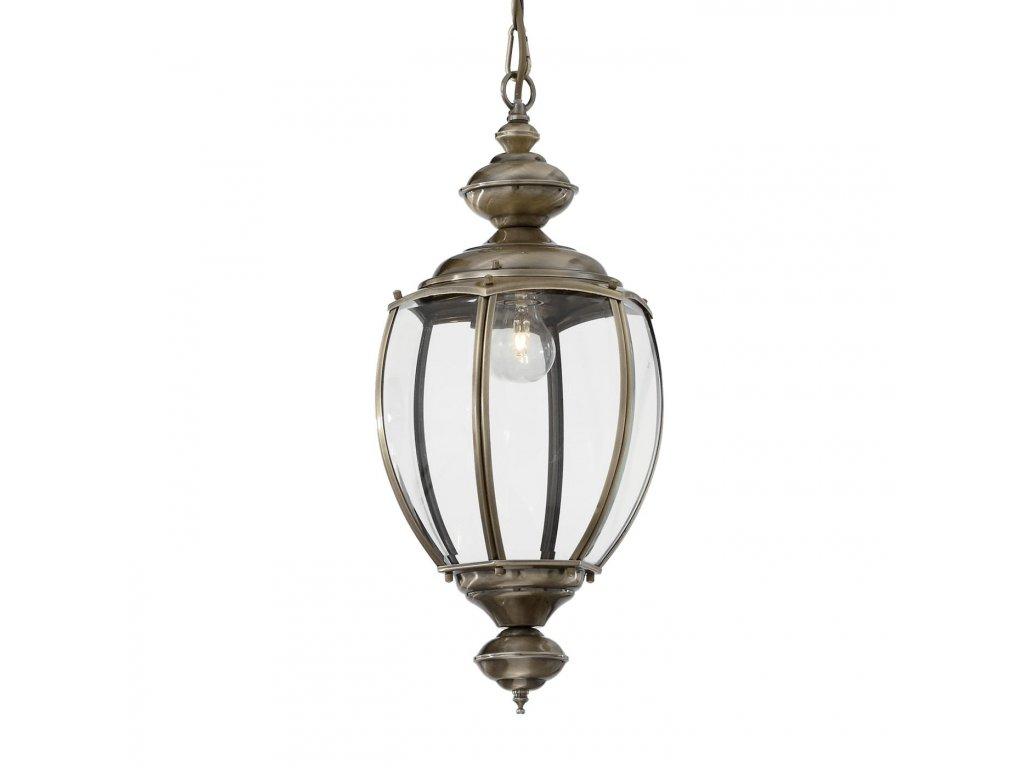 IDEAL LUX 005911 závěsné svítidlo Norma SP1 Big Brunito 1x60W E27