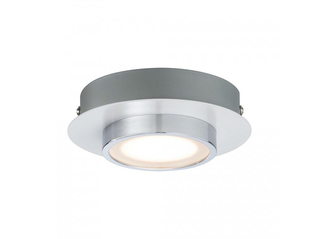 PAULMANN - LED stropní svítidlo Liao 4,7W bílá mat/chrom, P 70942