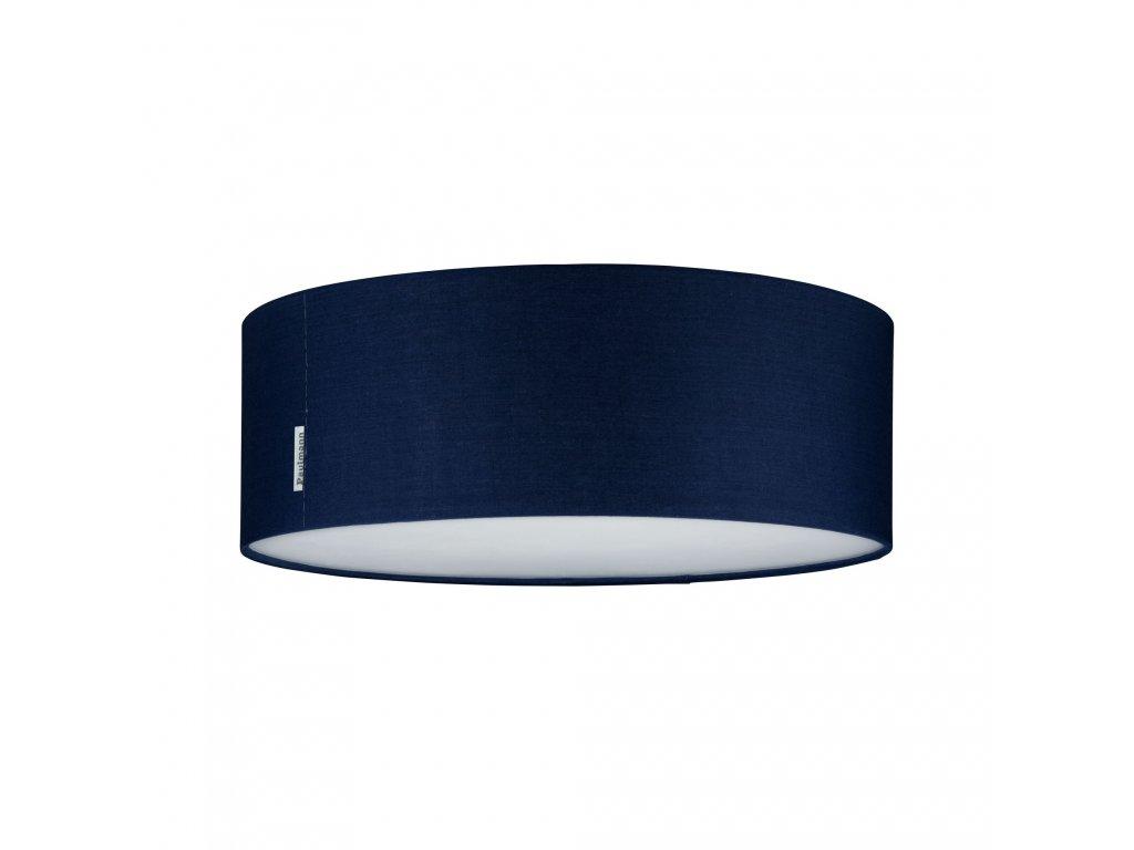 PAULMANN - Stropní svítidlo Mari modré látkové stínidlo, průměr 38cm, P 70951