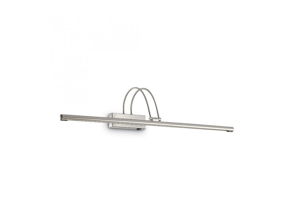 IDEAL LUX 007069 nástěnné LED svítidlo Bow AP114 Nickel 1x9W 4100K