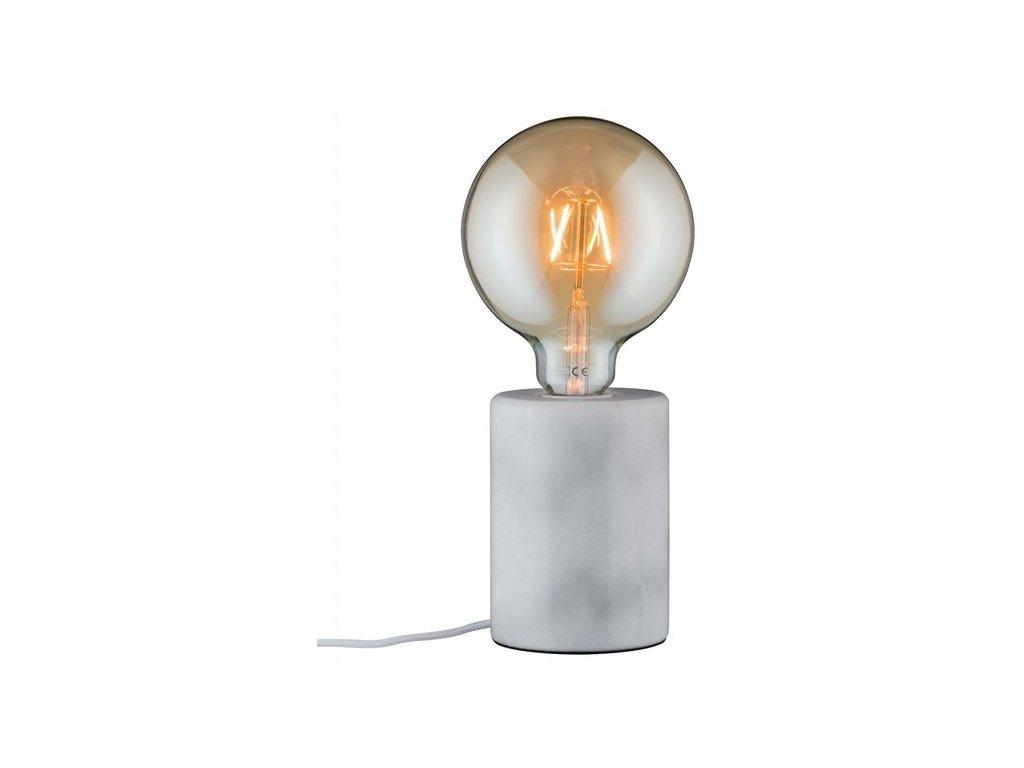 PAULMANN - Stolní lampa Neordic Nordin bílá / mramor, P 79601