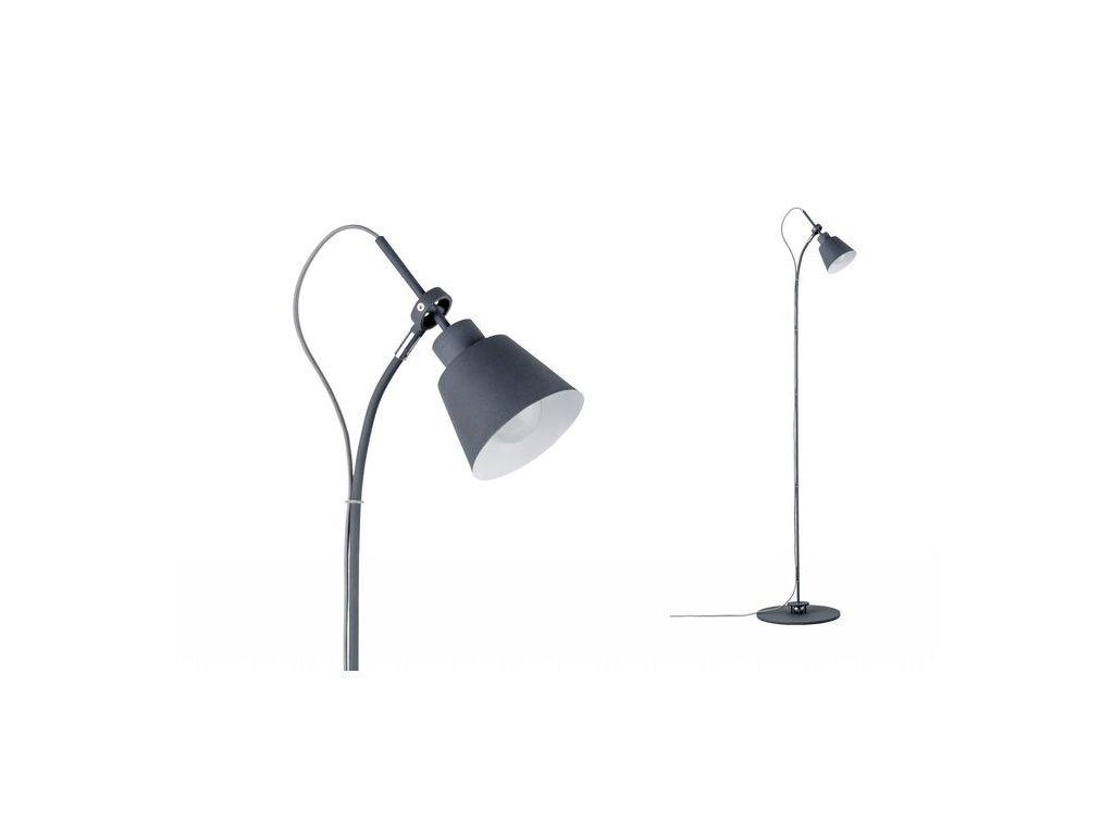 PAULMANN - Stojací lampa Neordic Thala šedá, P 79682