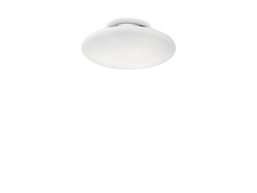 IDEAL LUX 009223 svítidlo Smarties Bianco PL1 D33 1x60W E27