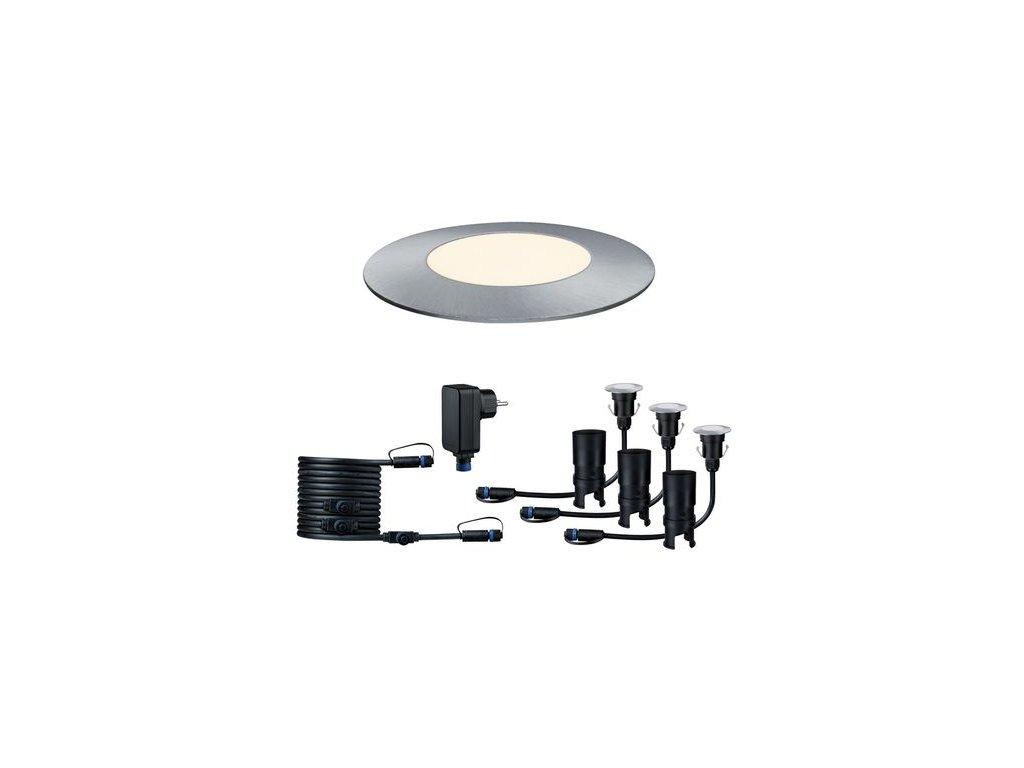 Plug&Shine základní sada Floor Mini IP65 3000K 3x2,5W - PAULMANN P 93697