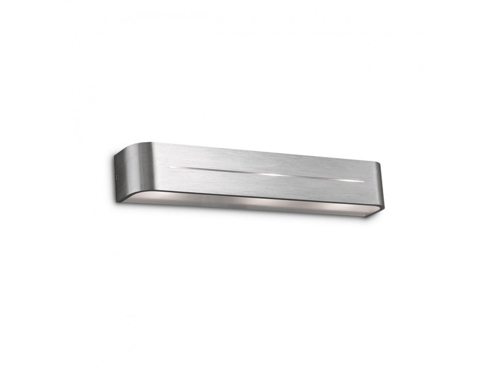 IDEAL LUX 009933 nástěnné svítidlo Posta AP3 Alluminio 3x40W E14