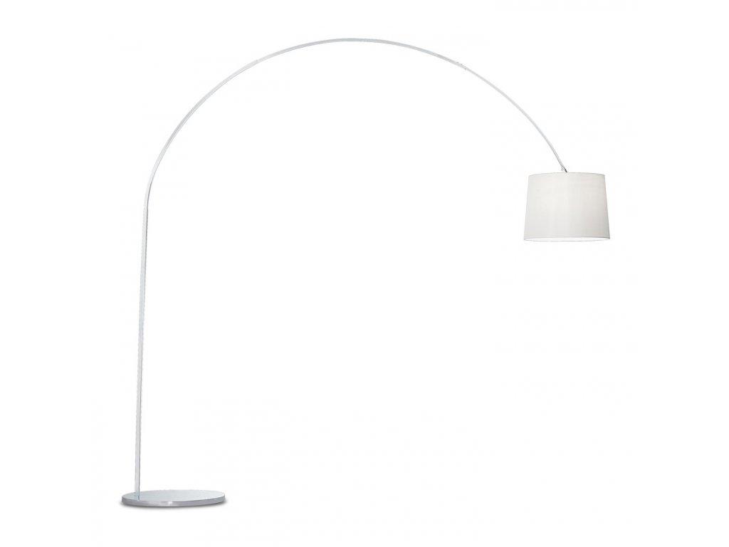 IDEAL LUX 012605 stojací lampa Dorsale PT1 Bianco 1x100W E27