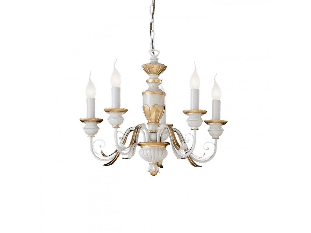 IDEAL LUX 012865 lustr Firenze SP5 5x40W E14