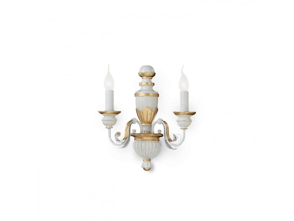 IDEAL LUX 012902 nástěnné svítidlo Firenze AP2 2x40W E14