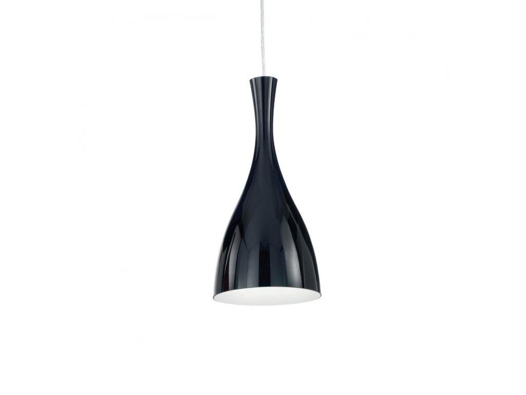 IDEAL LUX 012919 závěsné svítidlo Olimpia SP1 Nero 1x60W E27