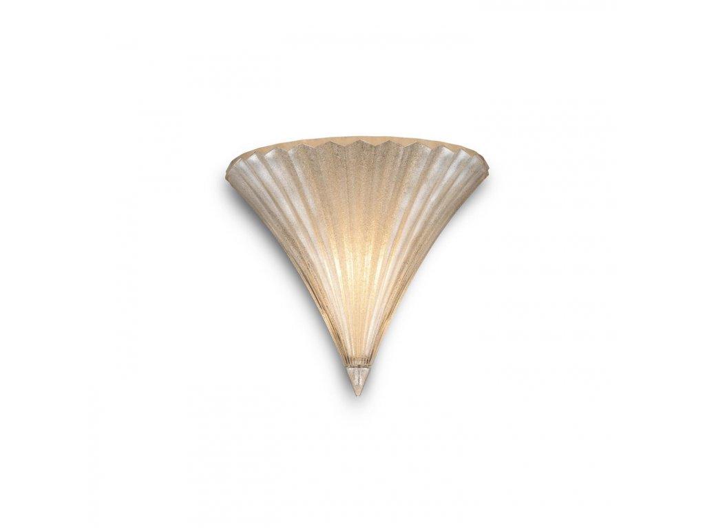 IDEAL LUX 013046 nástěnné svítidlo Santa AP1 Small Oro 1x40W E14