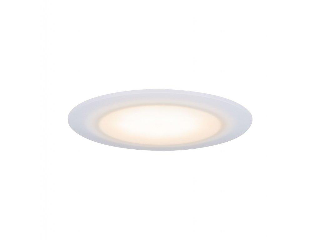 PAULMANN - Premium vestavné svítidlo LED Suon WarmDim 2000-2700K 6,5W 230 V saténové