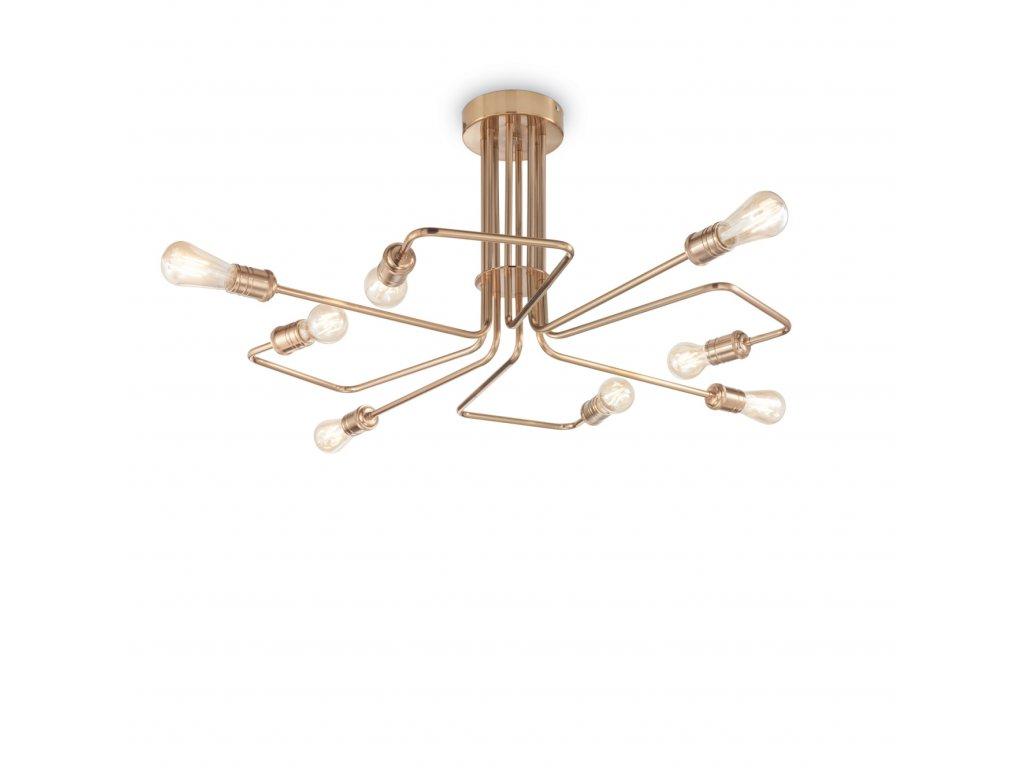 IDEAL LUX - Stropní svítidlo Triumph PL8 160313 mosaz antik
