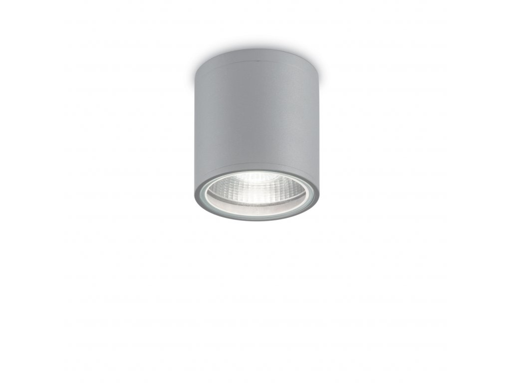 IDEAL LUX - Venkovní stropní svítidlo PL1 Gun grigio 163642 šedé