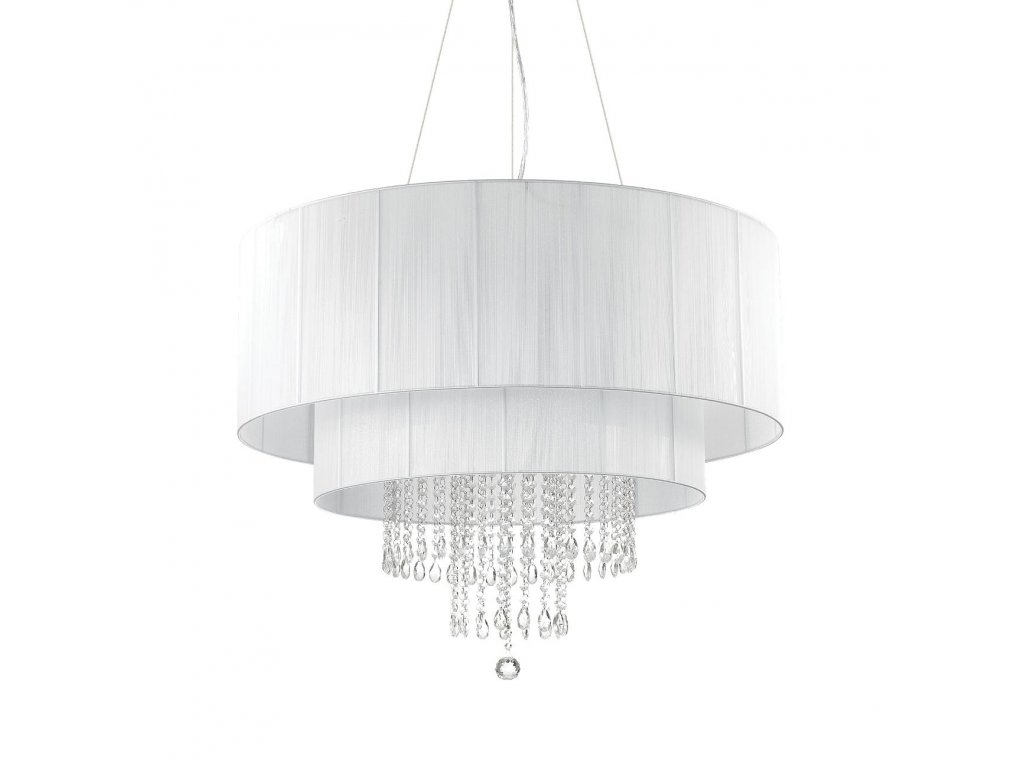 Závěsné svítidlo Ideal Lux Opera SP10 bianco 165011 bílé 90cm