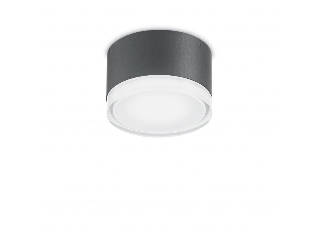 IDEAL LUX - Venkovní stropní a nástěnné svítidlo Urano PL1 small antracite antracitové 12cm IP44