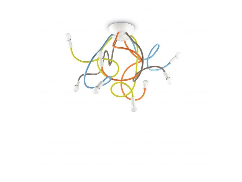 IDEAL LUX - Stropní svítidlo Multiflex PL8 color 159010