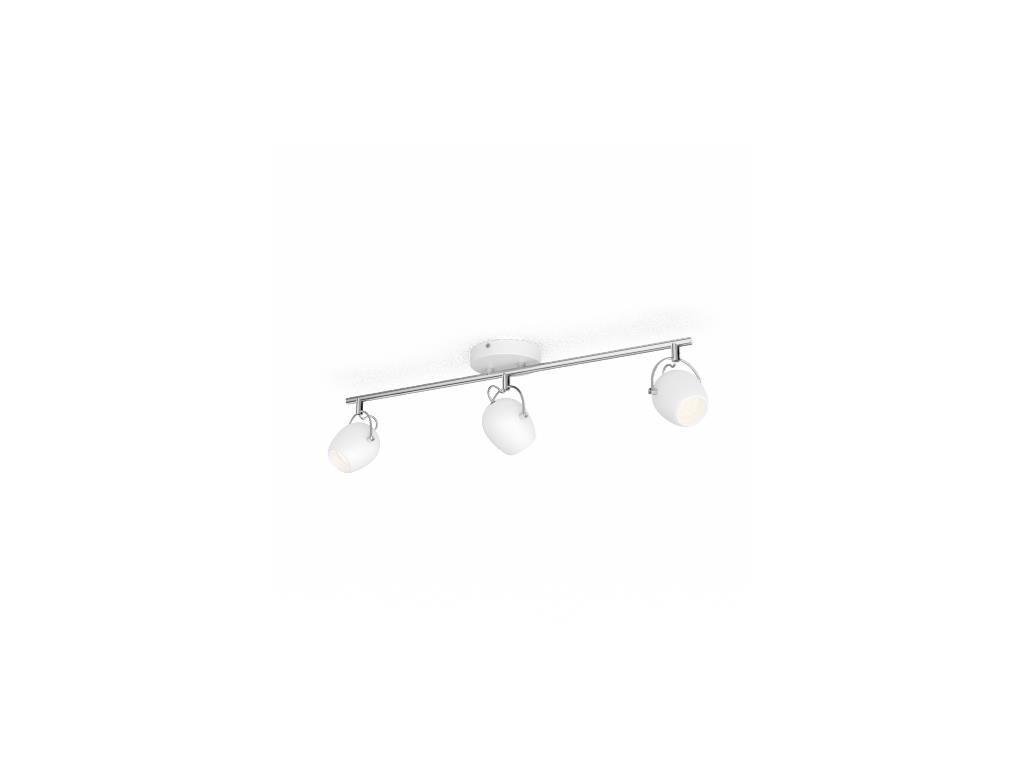 PHILIPS - LED Bodové svítidlo Rivano 50613/31/P0 3x4,3W bílé 2700K