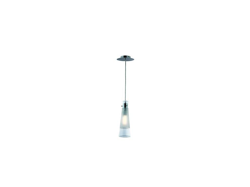IDEAL LUX 023021 závěsné svítidlo Kuky Clear SP1 Transparente 1x60W E27