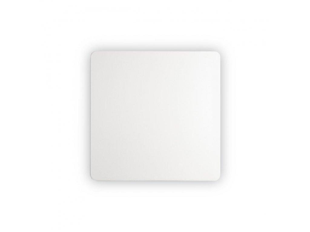 IDEAL LUX - LED Nástěnné svítidlo Cover AP1 square big bianco 195735 hranaté bílé 20cm