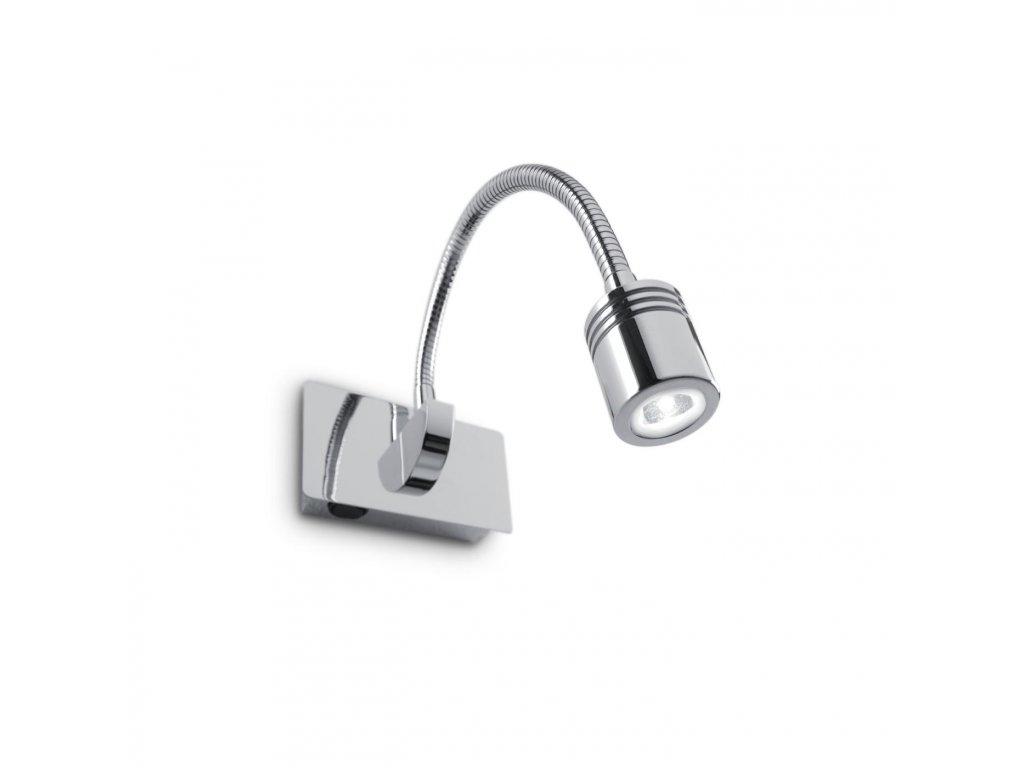 IDEAL LUX 031460 nástěnná LED lampička Dynamo Cromo 1x3W 3000K