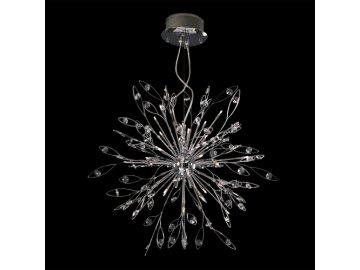 LUXERA 1544 závěsné svítidlo Crystal 24x20W G4