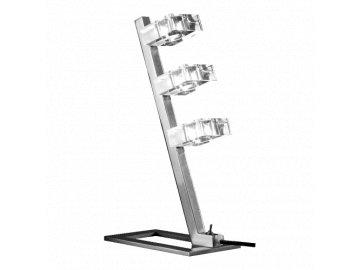 LUXERA 1557 stolní lampička Inua 3x28W G9