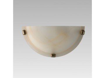 PREZENT 1400 F nástěnné svítidlo Alabaster 1x60W E27