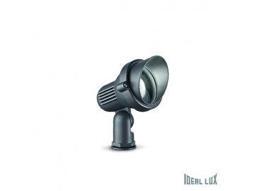 IDEAL LUX 033037 zahradní svítidlo Terra PT1 Small Antracite 1x35W GU10 IP65