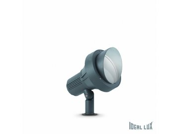 IDEAL LUX 033044 zahradní svítidlo Terra PT1 Big Antracite 1x60W E27 IP65