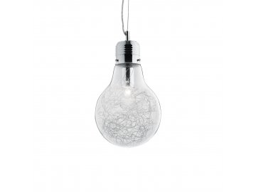IDEAL LUX 033679 závěsné svítidlo Luce Max SP1 Small 1x60W E27