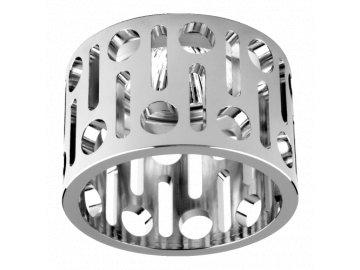 EMITHOR 71024 dekorativní vestavná bodovka Metral Fix 1x50W GU10