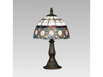 PREZENT 81 stolní lampa Tiffany 1x40W E14