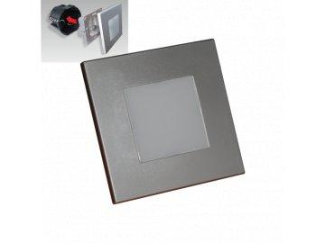 EMITHOR 48302 orientační schodišťové LED svítidlo Step Light 1x1W 4000K