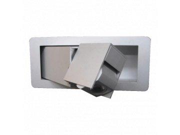 EMITHOR 41112 vestavné výklopné LED svítidlo Dream pravé 1x3W IP21 4000K
