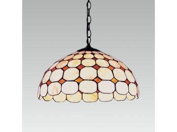 PREZENT 100 závěsné světlo Tiffany 2x60W E27