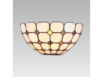 PREZENT 102 nástěnné světlo Tiffany 1x40W E14