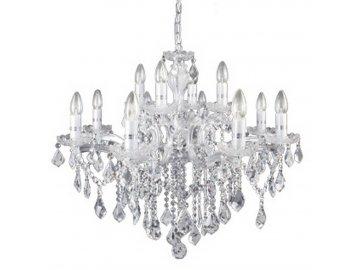 IDEAL LUX 035604 lustr FLORIAN SP12 Cromo 12x40W E14