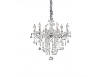 IDEAL LUX 035628 lustr FLORIAN SP6 Cromo 6x40W E14