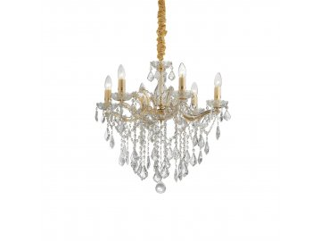 IDEAL LUX 035635 lustr FLORIAN SP6 Oro 6x40W E14