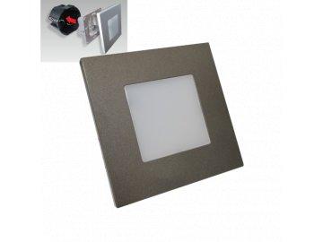 EMITHOR 48305 orientační schodišťové LED svítidlo Step Light 1x1W 4000K