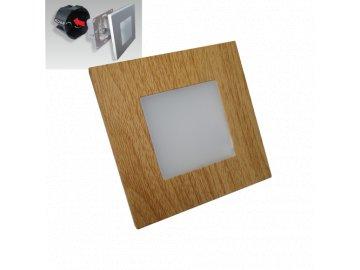 EMITHOR 48307 orientační schodišťové LED svítidlo Step Light 1x1W 4000K