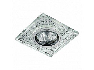 EMITHOR 71072 vestavná křišťálová bodovka Glass Fix 1x50W+1x0 2W GU10